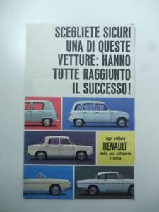 Scegliete-sicuri-una-di-queste-vetture-Pieghevole-pubblicitario-Renault-anni-60