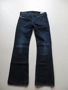 Diesel-ZATHAN-wash-0072Y-Bootcut-Jeans-Hose-W-29-L-30-Vintage-Denim-KULT