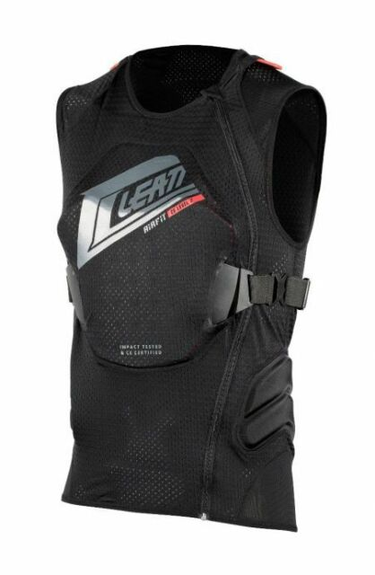 Leatt 3DF Airfit Body Vest Black Protection Brace Support ATV Off Road Motocross