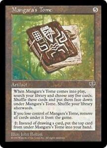 MTG 4X Mangara's Tome X4 Playset Rare NM/MT Mirage