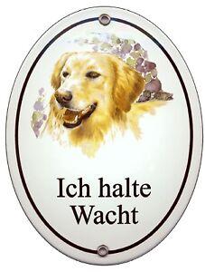 Schäferhund-emaille-schild-145 X 185 Mm-türschilder-hund-tiere-email-warnschild Dekoration Haustierbedarf
