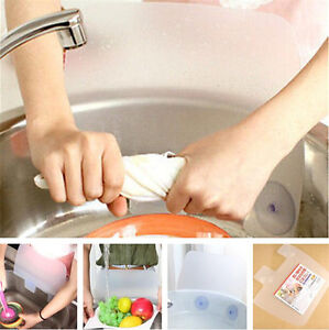 Flexible Kitchen Sink Water Splash Guard Water Spitting Baffle Board