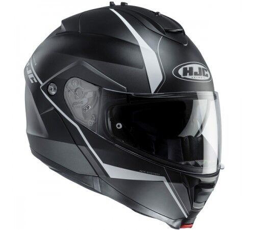 Casco Helmet MODULARE  HJC IS-MAX 2  MC5SF OPACO NERO//GRIGIO TAGLIA S