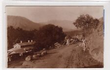 J.V. ROAD, DOMEL: India postcard (C23591)
