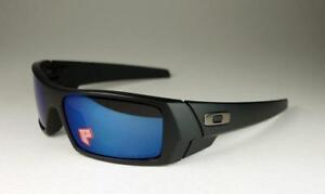 fe9c1e4819 Image is loading New-Oakley-Gascan-POLARIZED-Sunglasses-Matte-Black-Ice-