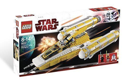 Lego Star Wars 8037 Anakin's Y-Wing Starfighter-Neuf Scellé
