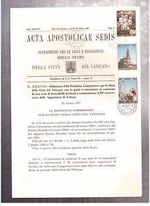 VATICAN-OCTOBER-13-1967-ACTA-APOSTOLICAE-SEDIS