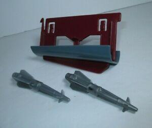 Hasbro Gi Joe 1986 Night Raven Jet Pièces Lot-Missile Pod