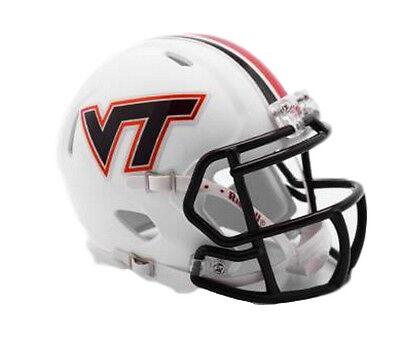 Preorder - NEW Virginia Tech VT Hokies Speed Mini Helmet Belk Bowl 'Matte White'