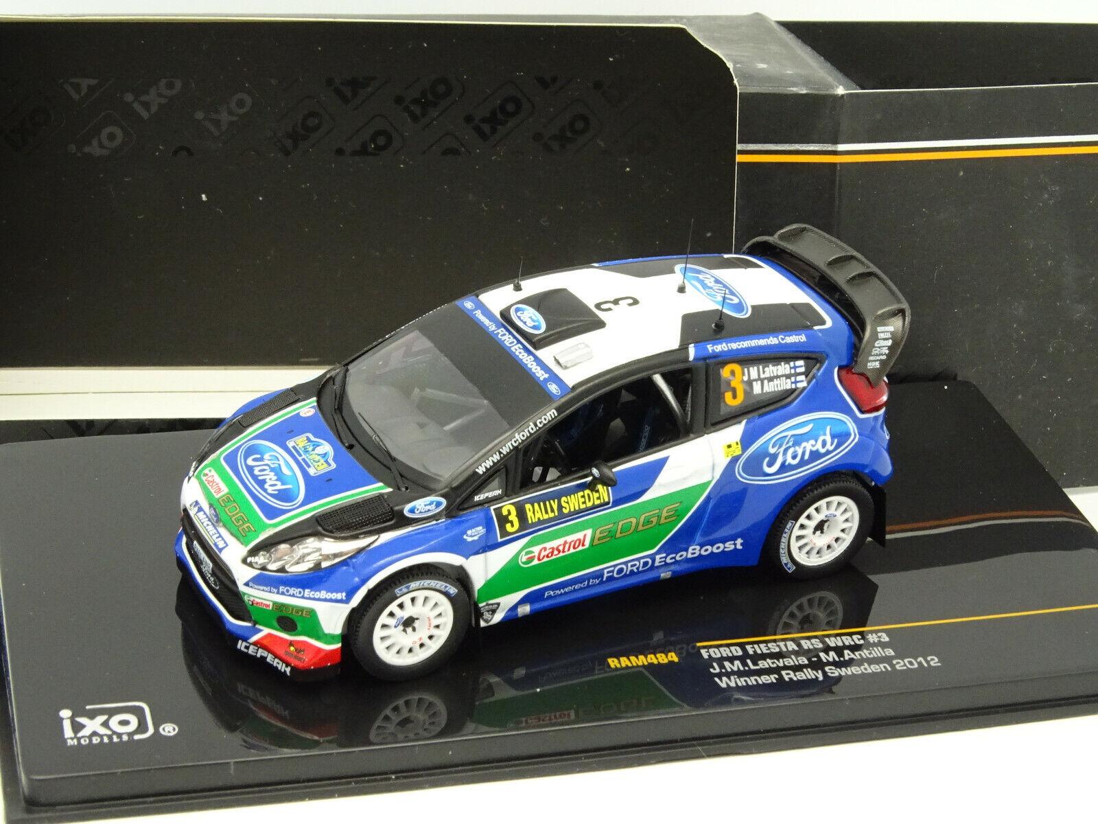 saldi Ixo 1 43 - Ford Fiesta Rs WRC N 3 3 3 Winner Rtuttiy Svezia 2012  prezzi bassi di tutti i giorni