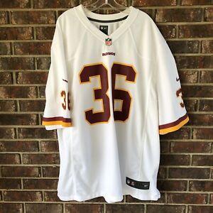 Details about Dj Swearinger NFL Nike On Field Redskins Jersey Size 3XL