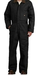 Dickies-Men-039-s-Big-Tall-Premium-Insulated-Duck-Coverall-Black-Size-XL-Tall-NWT