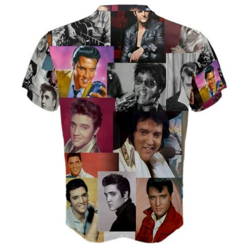 Elvis Presley Faces Paparazzi Men/'s Sports Mesh Tee T-SHIRT TEES EV1