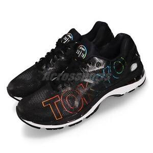 Asics-Gel-Nimbus-20-Tokyo-Marathon-2018-Black-Men-Running-Shoes-T8B1N-9090