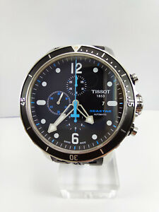 TISSOT Seastar 1000 Stainless Steel Automatic Chronograph Men's Watch Diver's
