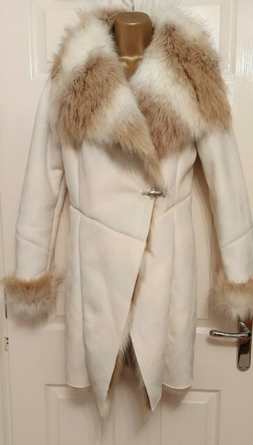 Blush Pink Faux Fur Collar, Pink Faux Fur Coat Miss Selfridge