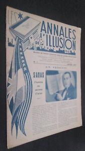 Las Anales ILUSIÓN N º 1 París 1945 ABE