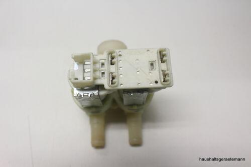 BOSCH Siemens 2er VALVOLA 2 volte valvola solenoide clistere di mandata 9000047096 Bianco
