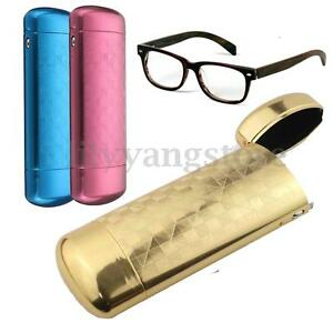 313500a954f Hard Metal Capsule Flip Top Glasses Case Protector Storage Spectacle ...