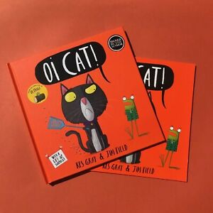 Oi-Cat-Kes-Gray-amp-Jim-Field-signed-copy-gift-set-perfect-present