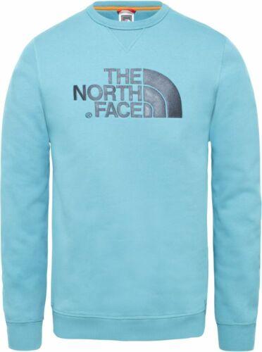 THE North Face Drew Peak Crew T92ZWR4Y3 Felpa Pullover Maglia Da Uomo Outdoor Nuove