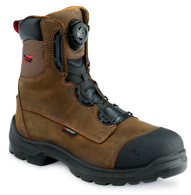 Red Wing 3268 Brown 8 Quot Lace Up S3 Sra Hro Safety Boot Boa
