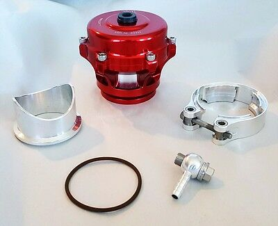 TIAL 50mm Q BLOW OFF VALVE BOV Kit 8 psi RED (New Version 2)
