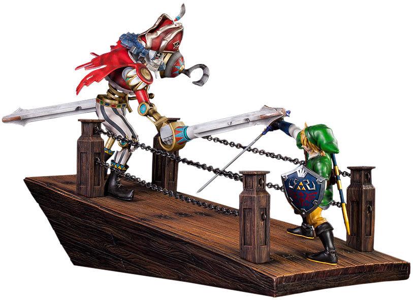 ZELDA: Skyward Sword - Link vs vs vs Scervo Sandship Diorama Statue (First 4 Figures) ef6e27
