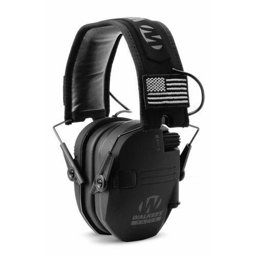 Black Patriot 3 Pack Walkers Razor Slim Shooting Ear Protection Headphones