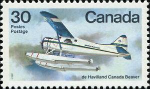 Canada-Scott-970-De-Havilland-Canada-Beaver-VF-83-MNH-OG-20276