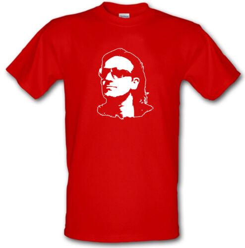 BONO U2 Irish Rock Che Guevara style Gildan Heavy Cotton t-shirt All Sizes S-XXL
