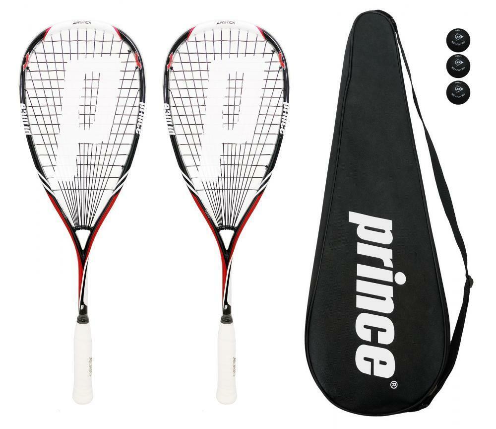 Wilson Pro Team Squash Racket 3 Squash Balls Option