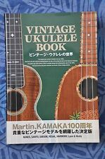 Vintage Ukulele Book Martin Kamaka Kumalae Nunes Gibson Santo Hawaii