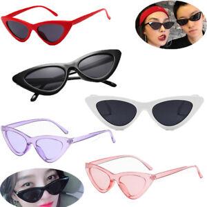 Unisex-Womens-Mens-Retro-Vintage-Cat-Eye-Round-Glasses-Fashion-Sunglasses-PQ