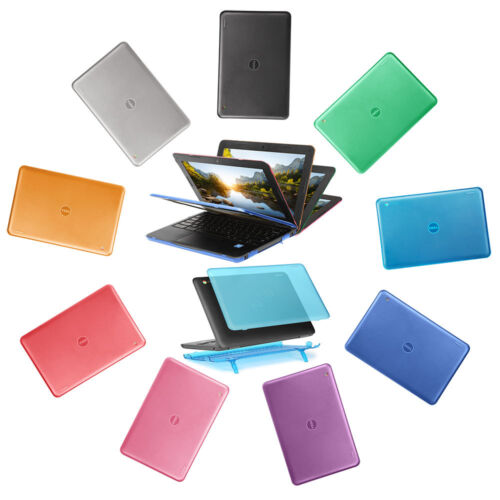 """NEW iPearl mCover® Hard Shell Case for 2017 11.6/"""" Dell Chromebook 11 3180 laptop"""