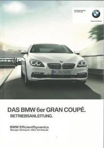 BMW-6-GRAN-COUPE-F06-Betriebsanleitung-2017-Bedienungsanleitung-Handbuch-BA