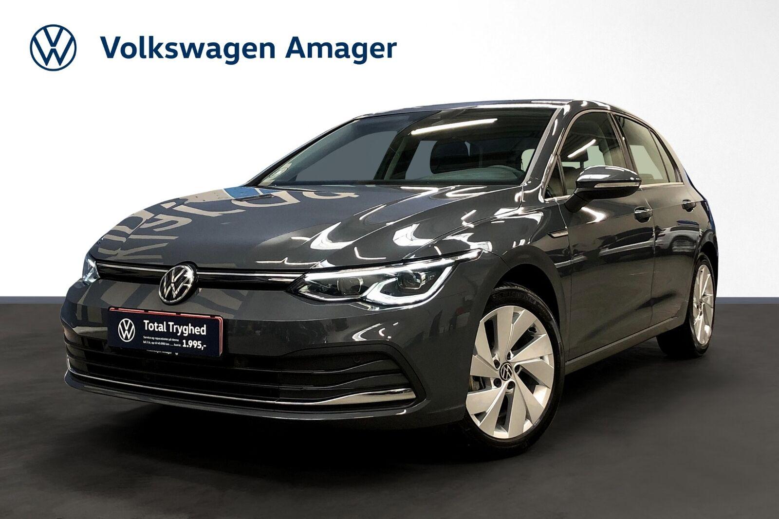 VW Golf VIII 1,5 eTSi 150 Style DSG 5d - 334.900 kr.