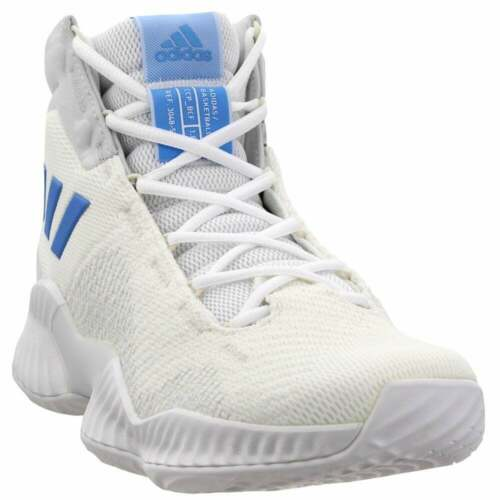 adidas SM Pro Bounce 2018 Team Whi  Casual Basketball  Shoes Off White Mens