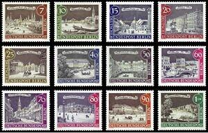 EBS-Berlin-1962-1963-Scenes-of-Old-Berlin-Michel-218-229-MNH