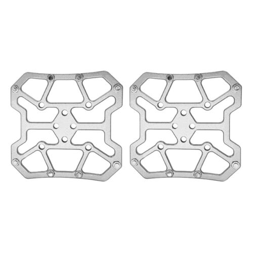 2×Universal Clipless Pedal Self-Locking Pedals For Mountain Bike Cycling Alloy