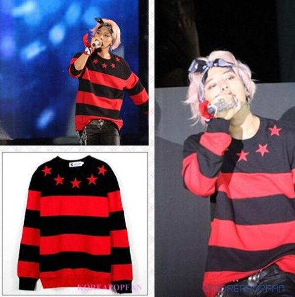 G-DRAGON BIGBANG FAN GD SWEATER KPOP NEW
