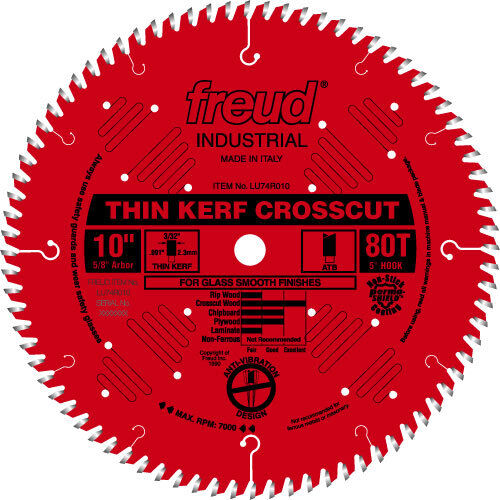 Freud LU74R012 12  Diameter X 96t ATB Thin Kerf Ultimat
