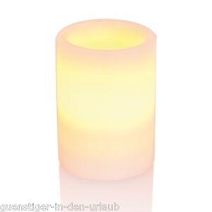 51697 Edi Light Echtwachs Kerze LED Tischleuchte 0,2 W RGB Farbwechsel gelb Deco
