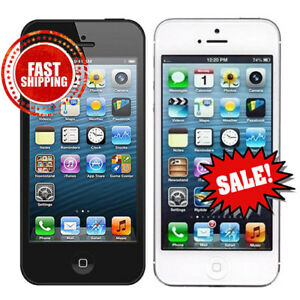 Apple-iPhone-5-16GB-32GB-64GB-Black-White-Unlocked-T-Mobile-Cricket-MetroPCS