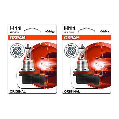 2x Audi A4 B5 H7 Genuine Osram Cool Blue Intense Fog Light Bulbs Pair