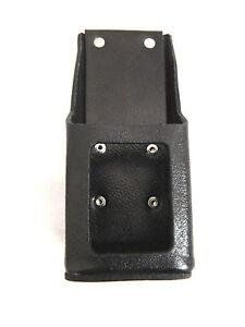 Motorola Leather Radio Holster for HT1000 XTS3000 XTS5000 MTS2000 W//Belt loop