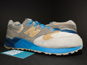 new style c3191 648bc Details about 2012 New Balance ML999COP ML999 999 CONCEPTS CNCPTS SEAL GREY  BEIGE BLUE 10.5