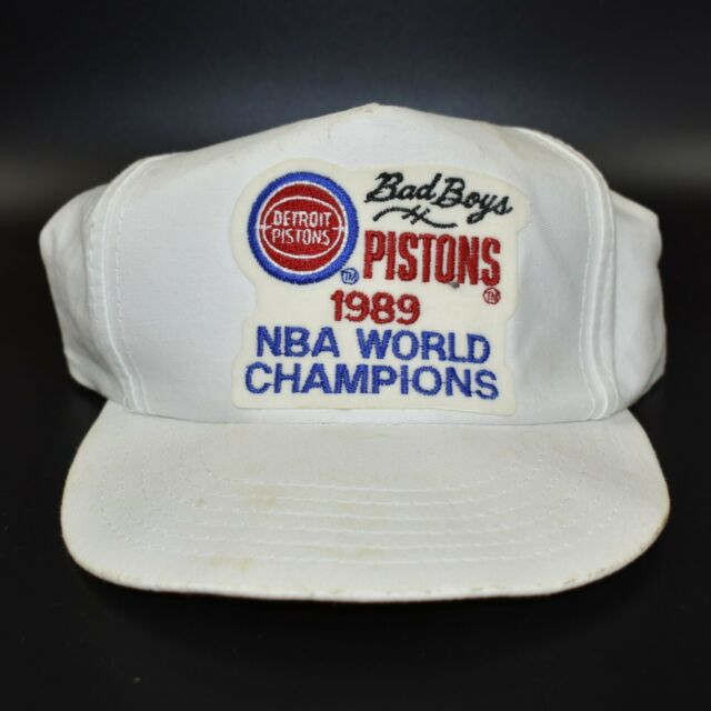 Detroit Pistons Vintage 1989 NBA Champions Bad Boys Adjustable Snapback Cap Hat