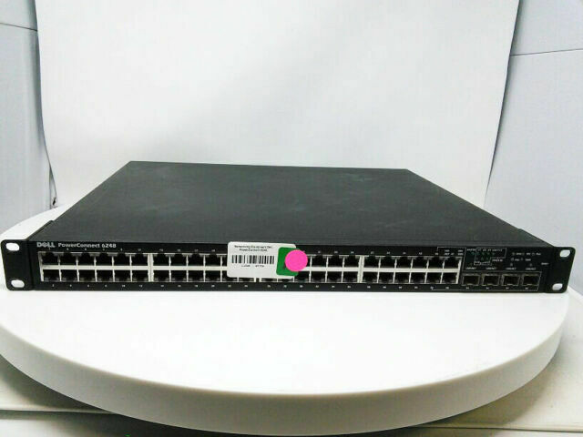 Dell PowerConnect 6248P 48-Port PoE Layer 3 Gigabit Ethernet Switch