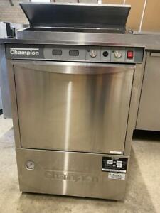 champion undercounter hightemp dishwasher Canada Preview